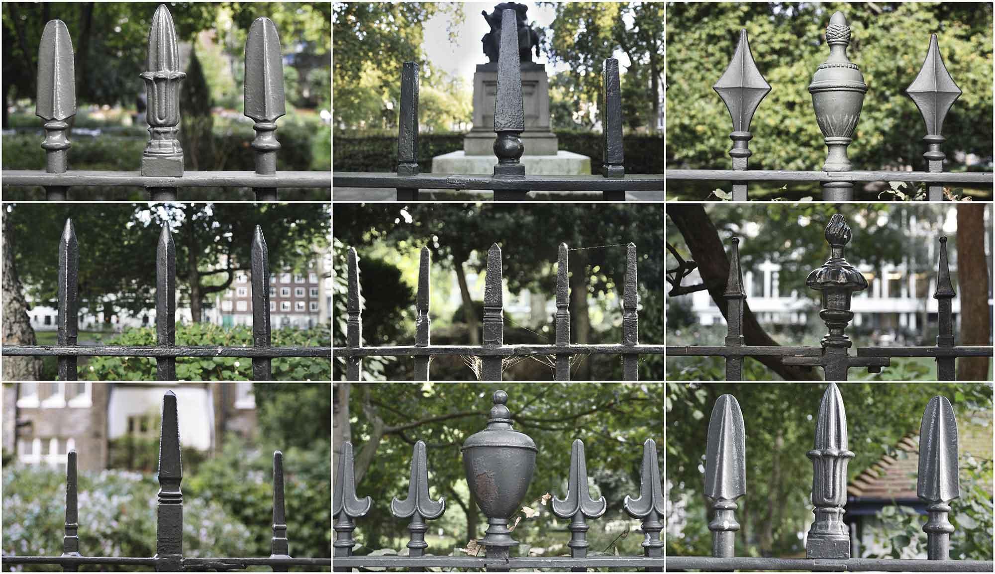 5 (Bloomsbury railings)